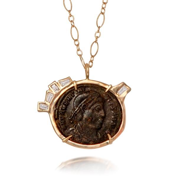 40- N670 roman coin